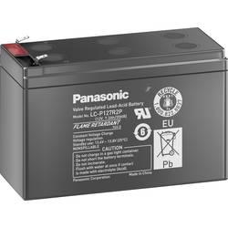 Olovený akumulátor Panasonic 12V 7,2Ah LC-P127R2P1, 7.2 Ah, 12 V