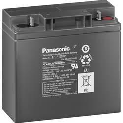 Olovený akumulátor Panasonic Longlife LC-P1220P, 20 Ah, 12 V