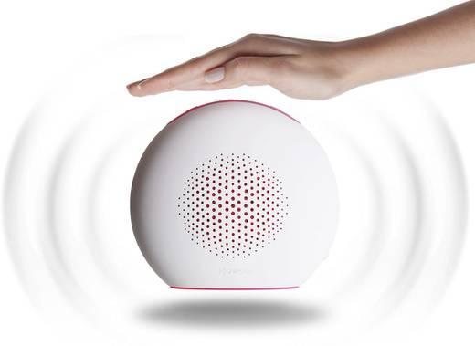 Bluetooth® Lautsprecher Boompods Doubleblaster 2 AUX Weiß, Pink