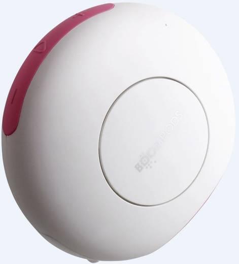 Boompods Doubleblaster 2 Bluetooth® Lautsprecher AUX Weiß, Pink