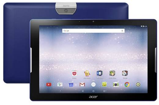acer iconia one10 b3 a30 android tablet 25 7 cm 10 1 zoll 16 gb wi fi blau 1 3 ghz quad core. Black Bedroom Furniture Sets. Home Design Ideas