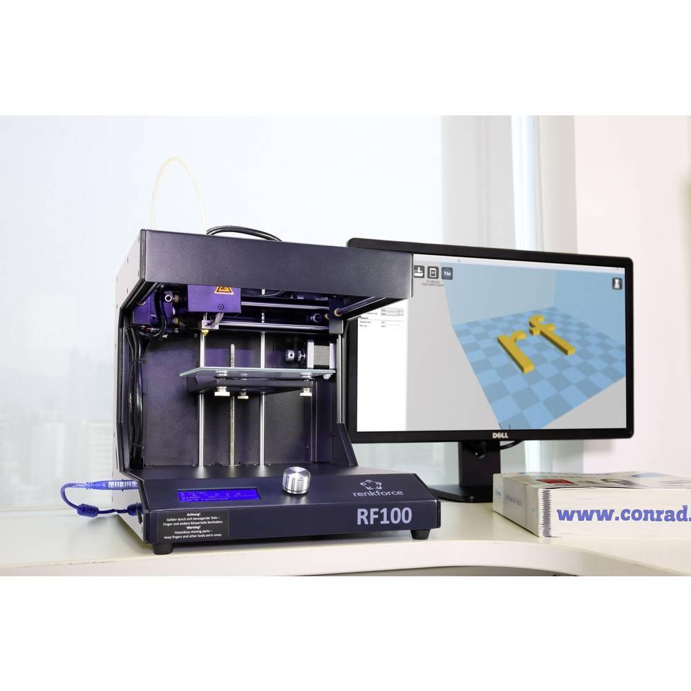 Imprimante 3d renkforce rf100 v2 avec filament sur le site internet conrad 1548286 - Filament imprimante 3d ...
