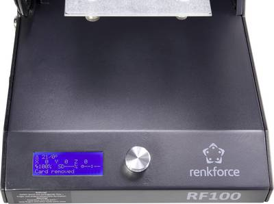 Renkforce RF100 v2 3D printer incl. filament