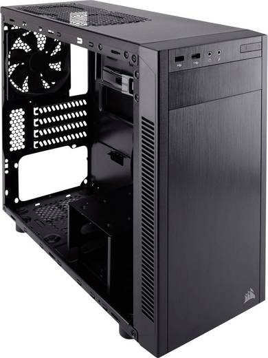 midi tower pc geh use corsair carbide 88r schwarz 1 vorinstallierter l fter werkzeugfreie. Black Bedroom Furniture Sets. Home Design Ideas