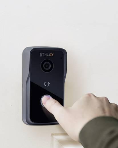 technaxx 4649 ip video t rsprechanlage wlan lan komplett set 1 familienhaus schwarz kaufen. Black Bedroom Furniture Sets. Home Design Ideas