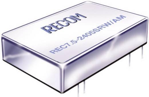 DC/DC-Wandler, Print RECOM REC7.5-4815DRW/AM 48 V/DC 15 V/DC, -15 V/DC 250 mA 7.5 W Anzahl Ausgänge: 2 x