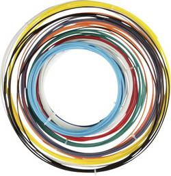 Sada vláken pro 3D tiskárny Velleman ABS175SET, ABS plast, 1.75 mm, černá, světle modrá, žlutá, šedá, zelená, přírodní, oranžová, červená, modrá, bílá