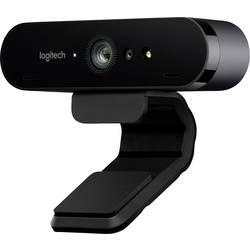 4K webkamera Logitech BRIO, stojánek, upínací uchycení