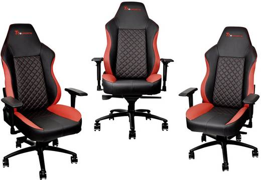 gaming stuhl tt esports rot schwarz kaufen. Black Bedroom Furniture Sets. Home Design Ideas