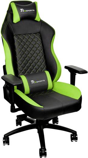 gaming stuhl tt esports schwarz gr n kaufen. Black Bedroom Furniture Sets. Home Design Ideas