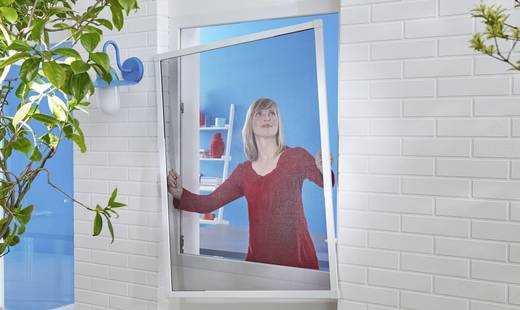 fliegengitter tesa 55202 00000 00 l x b 1400 mm x 1200 mm wei 1 st kaufen. Black Bedroom Furniture Sets. Home Design Ideas