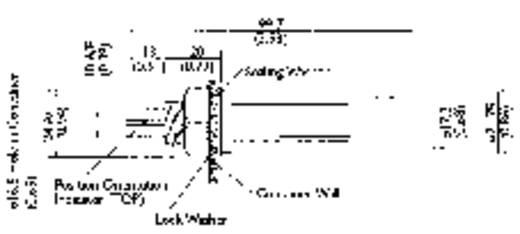 Schwimmerschalter 250 V/AC, 100 V/DC 1 A 1 Schließer, 1 Öffner TE Connectivity Sensor LDS803-51 IP65 1 St.