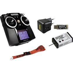 Ručné diaľkové ovládanie Multiplex Cockpit SX9, Conrad Exklusiv-Set, 2,4 GHz, Kanálov 9, vr. prijímača