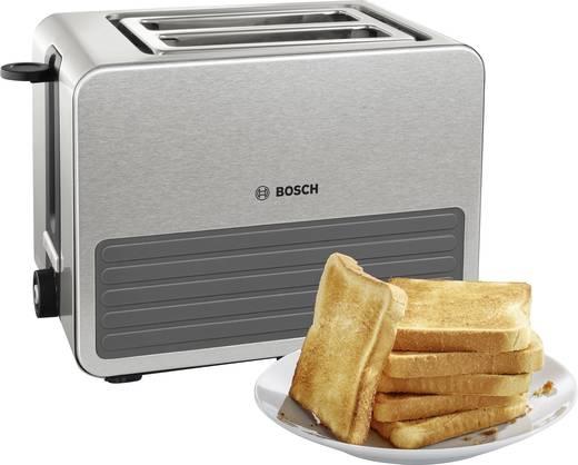 toaster mit eingebautem br tchenaufsatz bosch haushalt tat7s25 edelstahl schwarz kaufen. Black Bedroom Furniture Sets. Home Design Ideas
