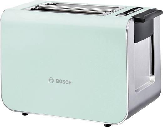 toaster mit eingebautem br tchenaufsatz bosch haushalt tat8612 hellgr n edelstahl kaufen. Black Bedroom Furniture Sets. Home Design Ideas