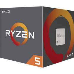 Procesor AMD Ryzen 5 (2600) 6 x 3.4 GHz Hexa Core Socket: AMD AM4 65 W