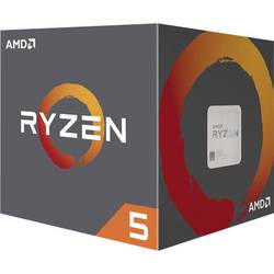 Procesor (CPU) v boxu AMD Ryzen 5 (1500X) 4 x 3.5 GHz Quad Core Socket: AMD AM4 65 W