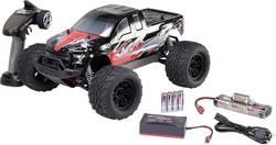 Monstertruck électrique Reely NEW1 brushed 2,4 GHz 4 roues motrices 100% RtR avec accu, chargeur et piles pour l'émetteu