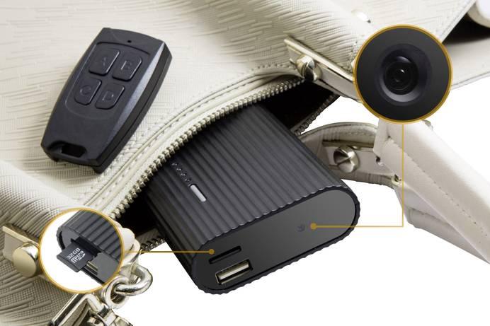 Mini-Kamera getarnt als Powerbank