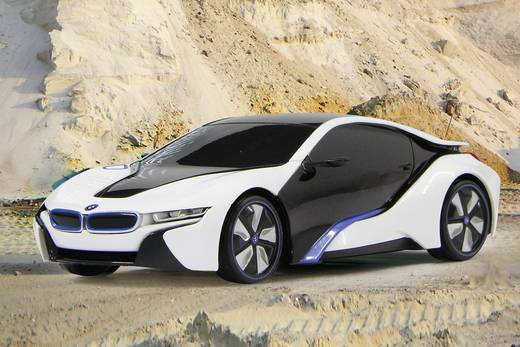 jamara 404495 bmw i8 1 24 rc einsteiger modellauto elektro. Black Bedroom Furniture Sets. Home Design Ideas