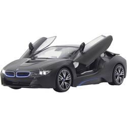 RC model auta Jamara 404570 – BMW I8, černá, silniční vůz - Jamara RC Auto BMW I8 RTR Se Světly Černá 1:14