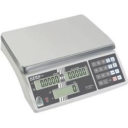 Počítacia váha Kern CXB 15K5NM+C, Max. váživosť 15 kg, Rozlíšenie 5 g, viacfarebná, Kalibrované podľa (DAkkS)
