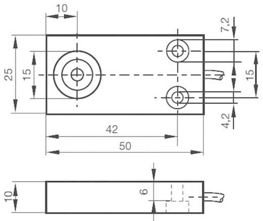 Induktiver Näherungsschalter 25 x 10 mm bündig PNP Pepperl & Fuchs NBB5-F33-A2