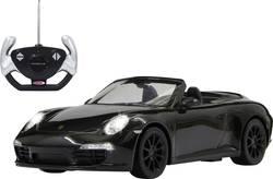 RC model auta Jamara 403085 – Porsche 911 Carrera, černá, silniční vůz