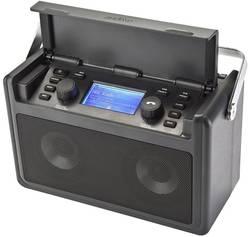 Vodotěsné internetové outdoorové rádio audisse Shirudo, Wi-Fi, černá