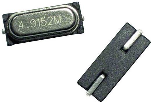 Quarzkristall EuroQuartz QUARZ HC49/SMD SMD-2 7.3728 MHz 8 pF 11.35 mm 4.7 mm 4.2 mm
