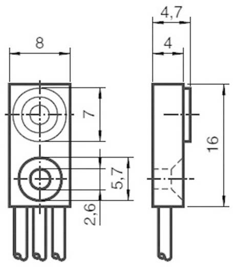 Induktiver Näherungsschalter 8 x 4,7 mm bündig PNP Pepperl & Fuchs NBB1,5-F79-E2