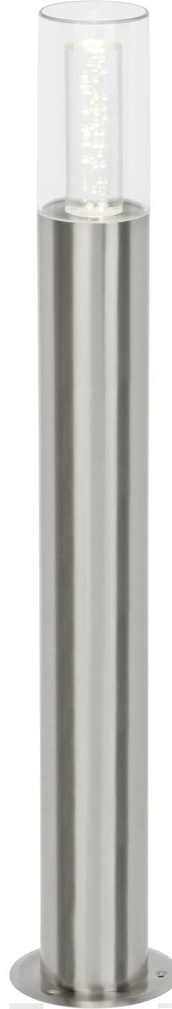 Lampadaire LED extérieur Brilliant Arctic 6.5 W acier inoxydable 80 cm