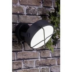 LED vonkajšie nástenné osvetlenie 12 W N/A Brilliant Nyx G96293/63 antracitová