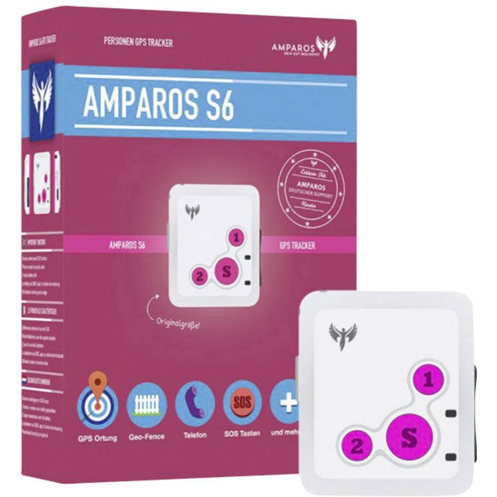 amparos s6 gps tracker personentracker. Black Bedroom Furniture Sets. Home Design Ideas