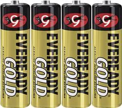 Image of Mignon (AA)-Batterie Alkali-Mangan Eveready Gold 1.5 V 4 St.