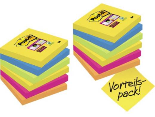 post it haftnotiz super sticky notes promotion rio de janeiro collection 76 x 76 mm b x h 4 x. Black Bedroom Furniture Sets. Home Design Ideas