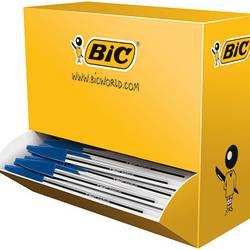 Image of BIC Einwegkugelschreiber Blau 0.4 mm dokumentenecht: Ja 100 St.