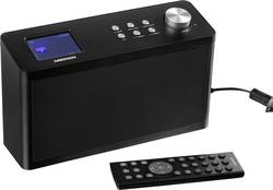 Internetové kuchyňské rádio, závěsné Medion P85060 (MD 87308), AUX, DAB+, internetové rádio, FM, černá