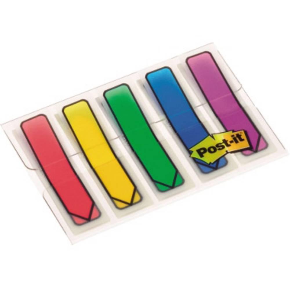 Post-it Häftremsor 7000038078 5 Block/Pack.  Röd, Blå, Gul, Grön, Lila