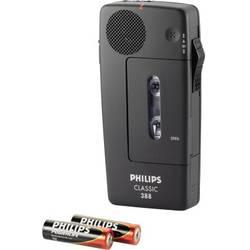 Analogový diktafon Philips Pocket Memo 388 Classic Maximální čas nahrávání 30 min černá