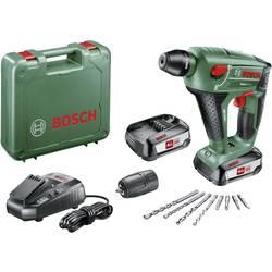 Bosch Home and Garden Uneo Maxx SDS quick-aku vŕtačka 18 V 2.5 Ah Li-Ion akumulátor + 2. akumulátor, + púzdro