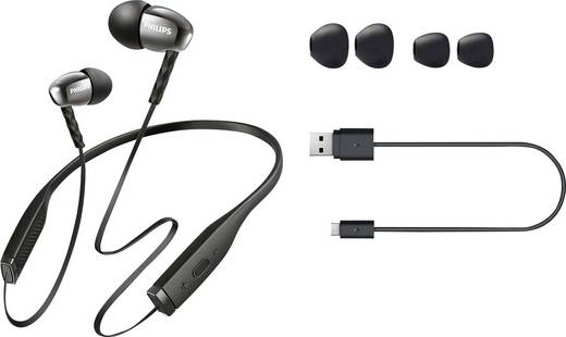 bluetooth kopfh rer philips shb5950bk in ear nackenb gel. Black Bedroom Furniture Sets. Home Design Ideas