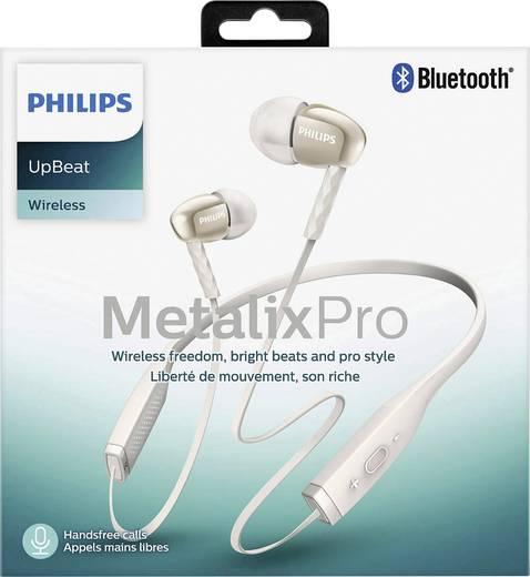 Bluetooth® Kopfhörer Philips SHB5950WT In Ear Nackenbügel