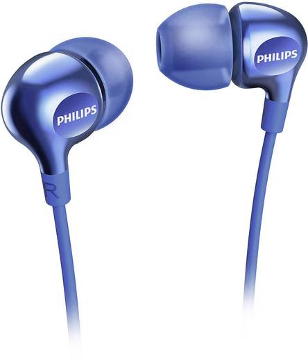 Kopfhörer Philips SHE3700BL In Ear Blau