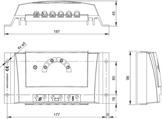 Solar-Laderegler 12 V, 24 V 30 A Steca Solarix PRS 3030