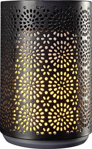 led kerze schwarz warm wei x h 8 4 cm x 12 cm polarlite. Black Bedroom Furniture Sets. Home Design Ideas