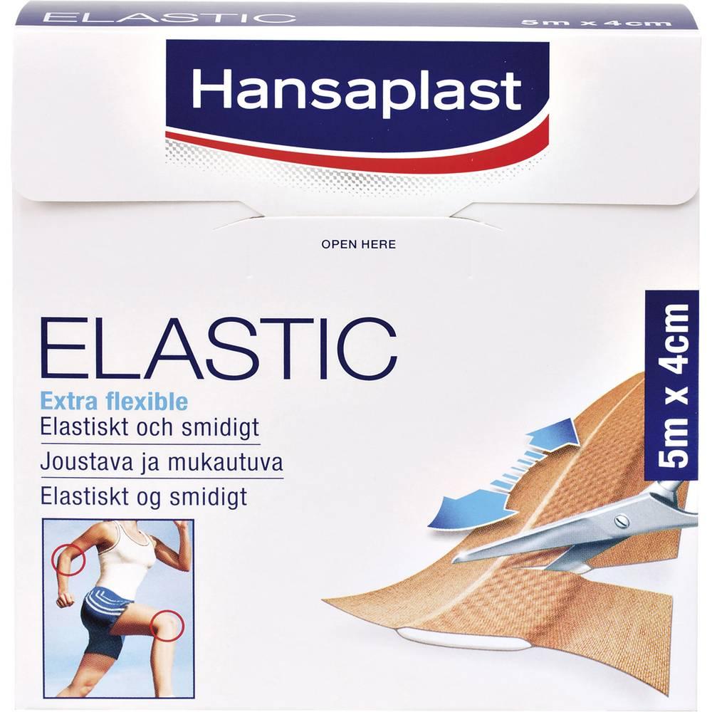 1556522 Hansaplast ELASTIC plåster (L x B) 5 m x 4 cm