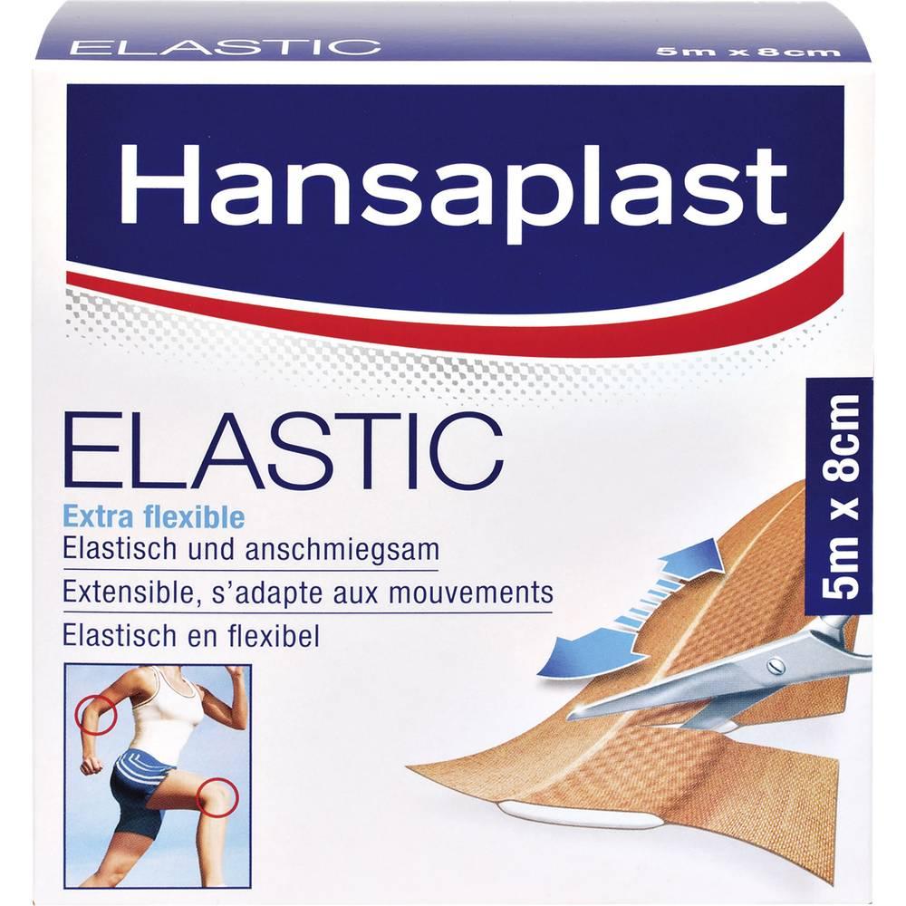 1556523 Hansaplast ELASTIC plåster (L x B) 5 m x 8 cm