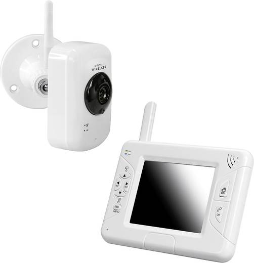 PENTATECH 27223 Babyphone mit Kamera Digital 2.4 GHz