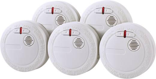 renkforce rauchwarnmelder 5er set inkl 10 jahres batterie. Black Bedroom Furniture Sets. Home Design Ideas